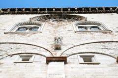 Romanesque trani Royalty Free Stock Image