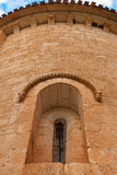 Romanesque window Stock Images