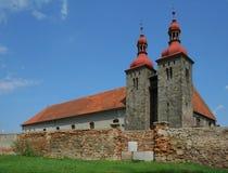 Romanesquekirche Stockfotos