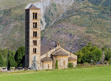 Romanesquekirche von Sant Climent de Taull, Spanien Lizenzfreie Stockfotografie