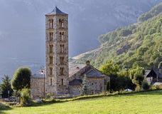 Romanesquekirche von Sant Climent de Taull, Spanien Stockfotos