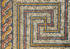 Romanesquemosaik Stockbild