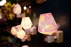 Romanetic lamp Royalty-vrije Stock Foto