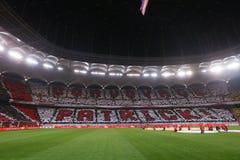 "ROMANIA'S决赛†""迪纳莫队布加勒斯特对 CFR科鲁 免版税库存图片"