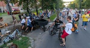 Romania - 10 August rally - Diaspora rally - Davide Martello, the pianist who plays at the rallies