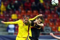 Romania- Belgium Stock Photo