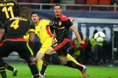 Romania- Belgium Royalty Free Stock Image