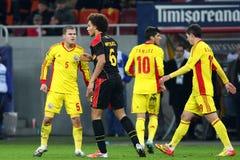 Romania- Belgium Royalty Free Stock Photos