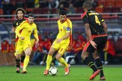 Romania- Belgium Royalty Free Stock Photo