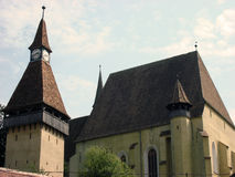 Romania, Biertan. Summer in Romania, Biertan.  Fortified church Royalty Free Stock Images