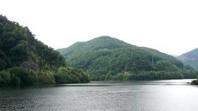Romania big dam stock footage