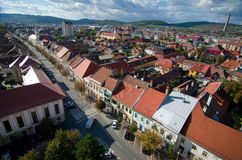 Romania - Bistrita Stock Photo