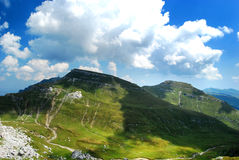 Romania bucegi mountains landscape Royalty Free Stock Photo