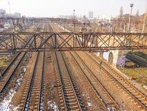 Romania CFR railroad Royalty Free Stock Photo