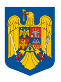 Romania coat of arms Stock Photography