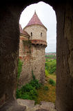 Romania - Corvin Castle Stock Photo
