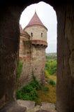 Romania - Corvin Castle stock photo