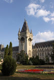Romania. The Cultural Palace from Iasi, the dome stock image