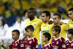 Romania Cup Final: Petrolul Ploiesti - CFR Cluj Royalty Free Stock Photography