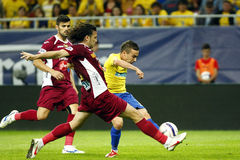 Romania Cup Final: Petrolul Ploiesti - CFR Cluj Royalty Free Stock Images