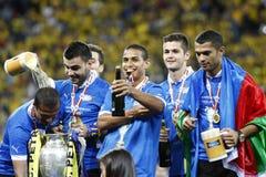 Romania Cup Final: Petrolul Ploiesti - CFR Cluj Royalty Free Stock Photo