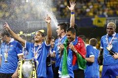 Romania Cup Final: Petrolul Ploiesti - CFR Cluj Stock Photo
