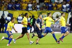 Romania Cup Final: Petrolul Ploiesti - CFR Cluj Stock Images