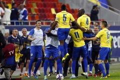 Romania Cup Final: Petrolul Ploiesti - CFR Cluj Royalty Free Stock Photos