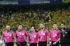 Romania Cup Final: Petrolul Ploiesti - CFR Cluj Stock Image