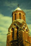 Romania - Curtea de Arges Monastery Tower Royalty Free Stock Photography