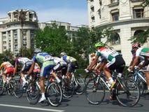Romania Cycling Tour Stock Photo