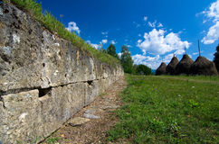 Romania - Dacian Fortress of Costesti-Blidaru Royalty Free Stock Photo