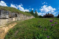 Romania - Dacian Fortress of Costesti-Blidaru Royalty Free Stock Image