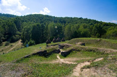 Romania - Dacian Fortress of Costesti-Blidaru Stock Image