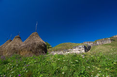 Romania - Dacian Fortress of Costesti-Blidaru Royalty Free Stock Photo