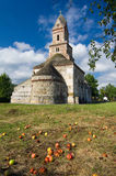 Romania - Densus Church Stock Photo