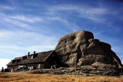 romania för omu för bucegidatalistberg skydd Royaltyfri Bild