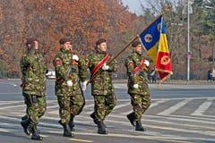 Romania flag Royalty Free Stock Photo