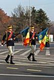 Romania flag Stock Images