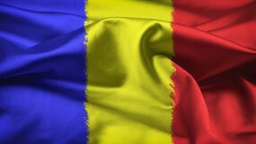 Free Romania Flag Design  Variant  3 Royalty Free Stock Images - 200222929