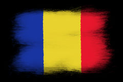 The Romania flag Royalty Free Stock Images