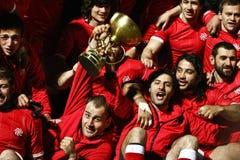 Romania-Georgia Rugby Stock Image