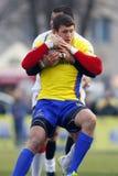 Romania-Georgia Rugby Royalty Free Stock Photos