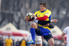 Romania-Georgia Rugby Royalty Free Stock Image