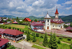 Humor Monastery, Romania Stock Photography