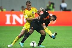 Romania-Holland Imagem de Stock