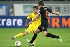 Romania-Holland Foto de Stock