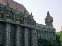 Romania. Hunedoara. Summer in Romania. Hunedoara castle Stock Photo