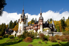 Romania King Carol Palace. Called Peles from Sinaia Stock Images