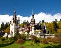 Romania King Carol Palace. Called Peles from Sinaia Stock Photos
